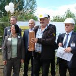 Grundsteinlegung am 13. Juli 2016