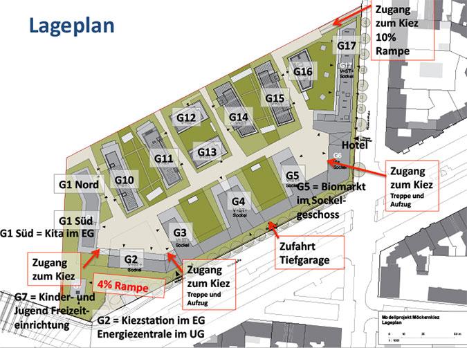 Lageplan Möckernkiez